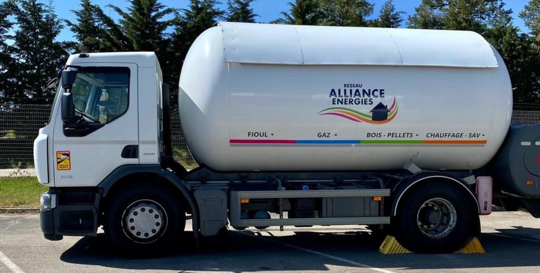 Distribution de gaz propane dans le Haut-Rhin