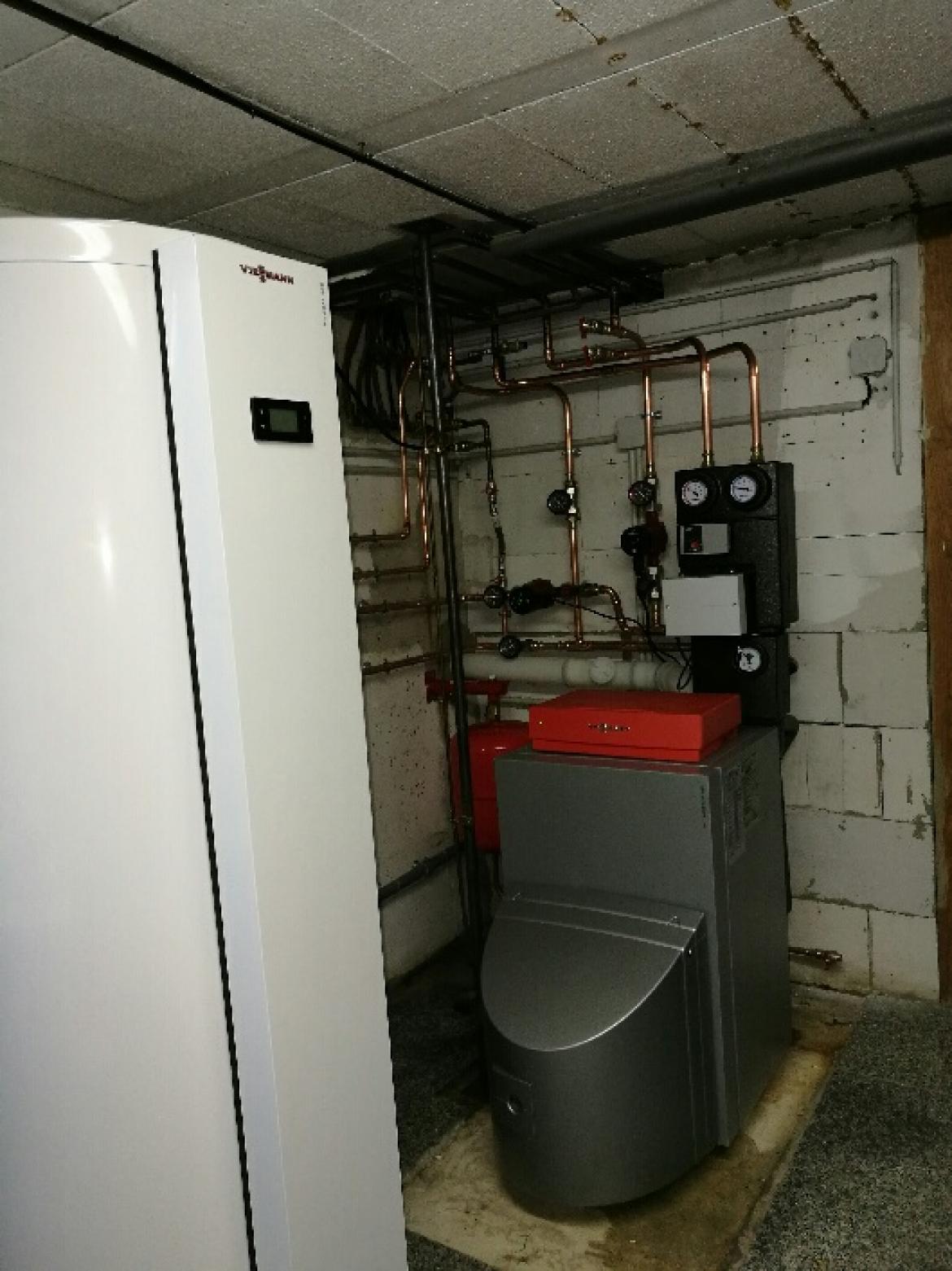 Installation Chaudière À Condensation installation chaudière fioul à condensation viessmann en